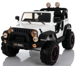 MEGA JEEP PERFECT 002 EXCLUSIVE, WOLNY START/ MIĘKKIE KOŁA HP-002