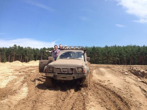 Jazda OFF ROAD 4x4