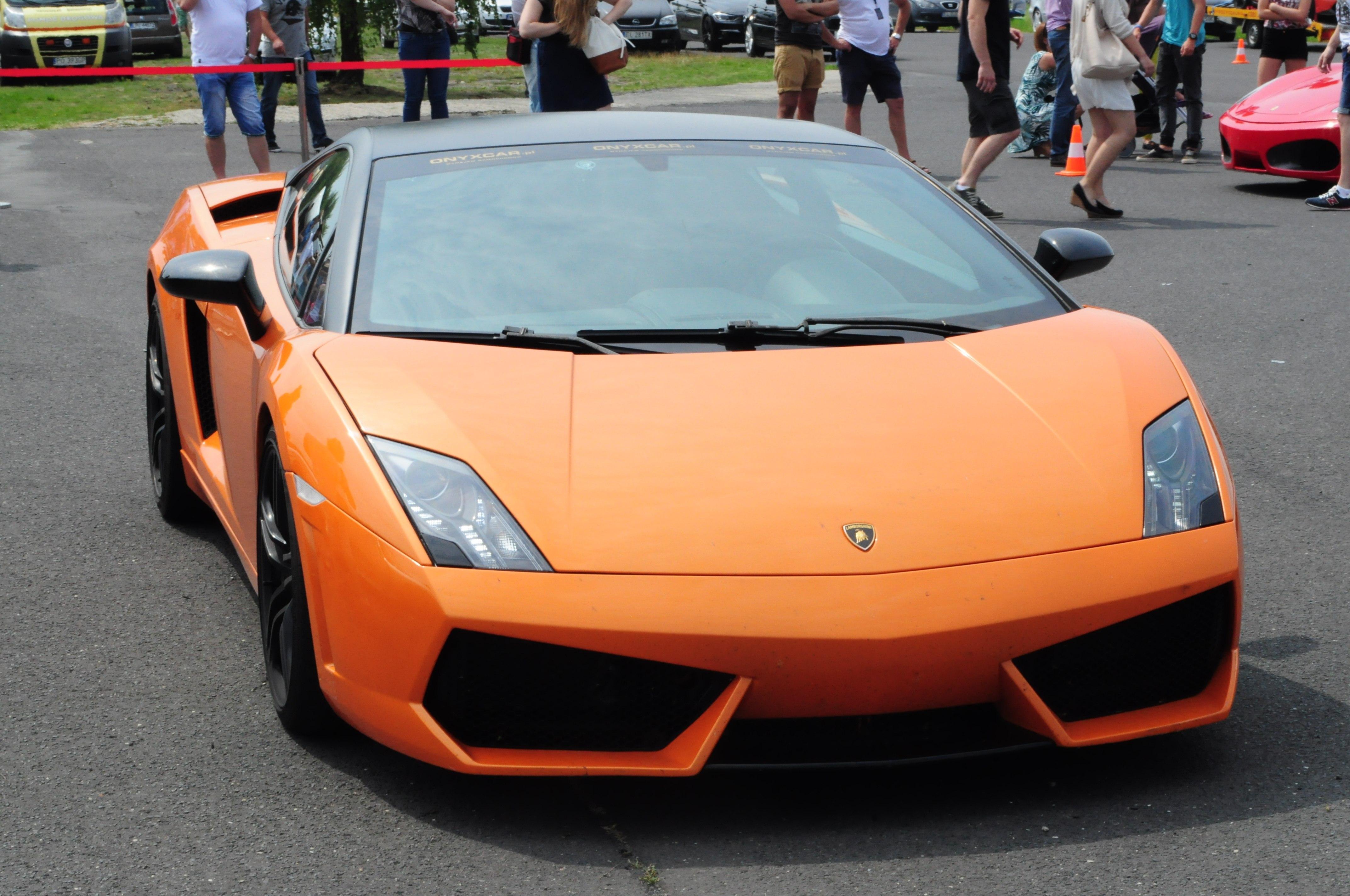 Przejażdżka Lamborghini